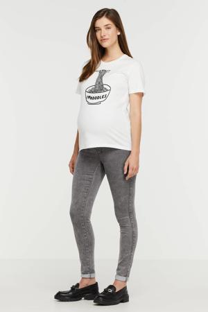 low waist skinny jeans OLMROYAL grijs stonewash