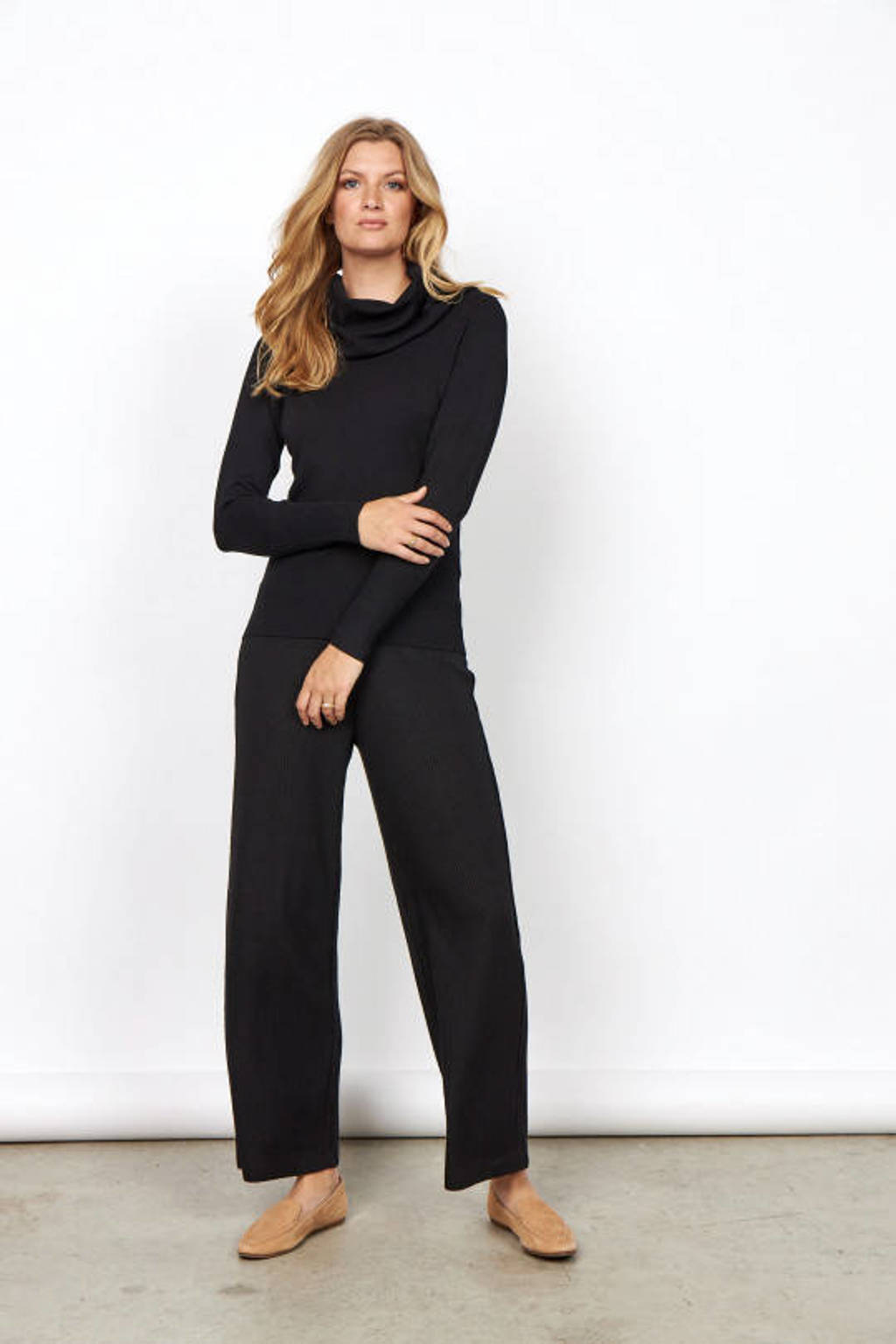 Soyaconcept gebreide trui Dollie 305 zwart, Zwart