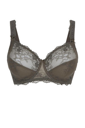 beugelbh Daily Full Coverage Lace donkergroen