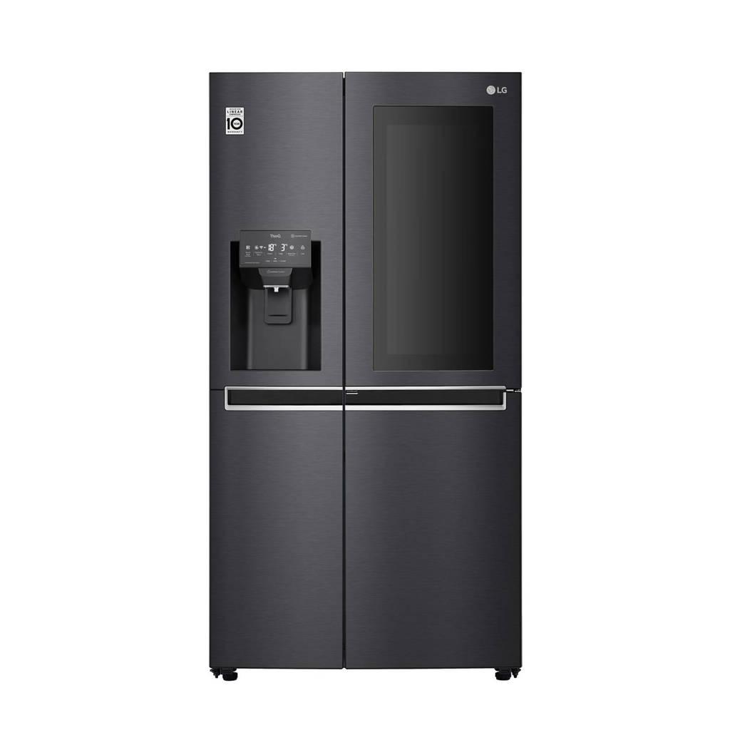 LG GSX960MCCE amerikaanse koelkast, Zwart