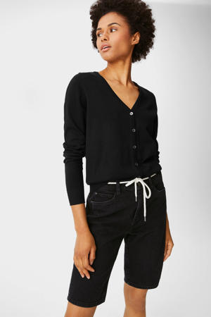 bermuda jeans zwart