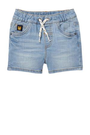regular fit jeans bermuda blauw