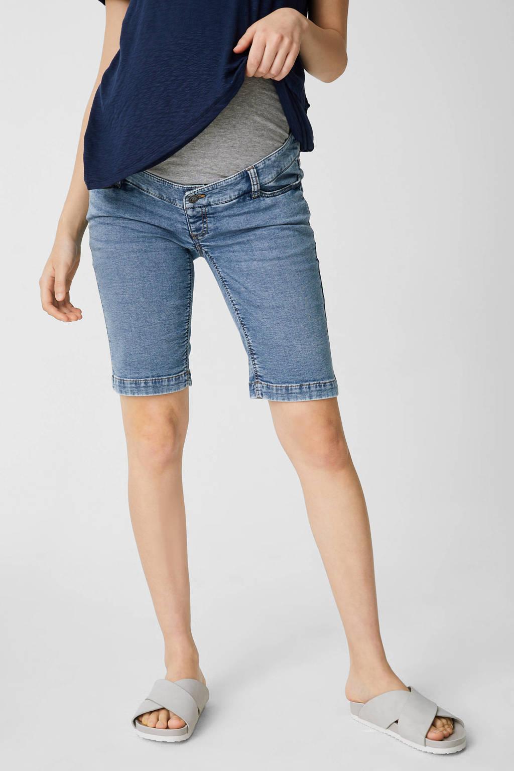 C&A The Denim regular fit jeans short lichtblauw, Lichtblauw