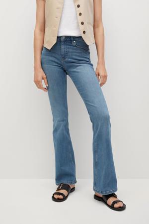 flared jeans light denim