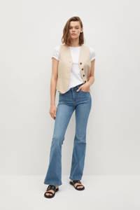 Mango flared jeans light denim, Light denim