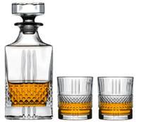 Jay Hill whisky set (3-delig), Transparant