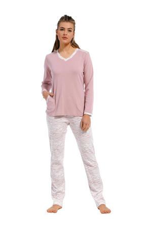 pyjama met zebraprint lila