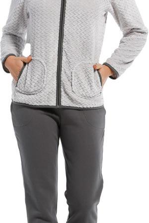 fleece loungepak grijs