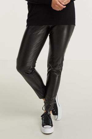 coated skinny legging SHANI 496 zwart