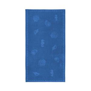 strandlaken Shells (200x100 cm) Blauw