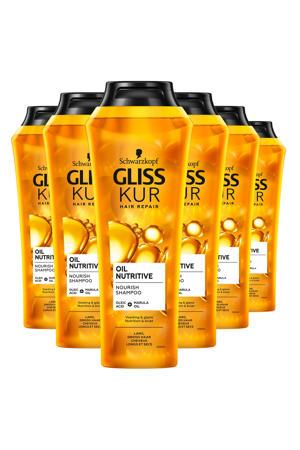 Shampoo Oil Nutritive -  6x 250 ml
