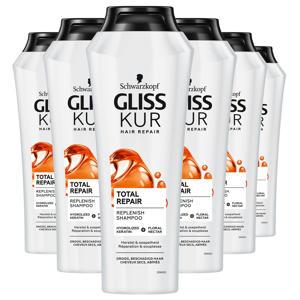 Shampoo Total Repair - 6x 250 ml