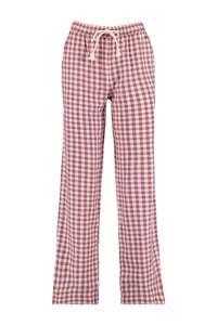 America Today geruite pyjamabroek Loyce rood/wit, Rood/wit