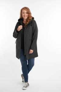 MS Mode regenjas zwart, Zwart