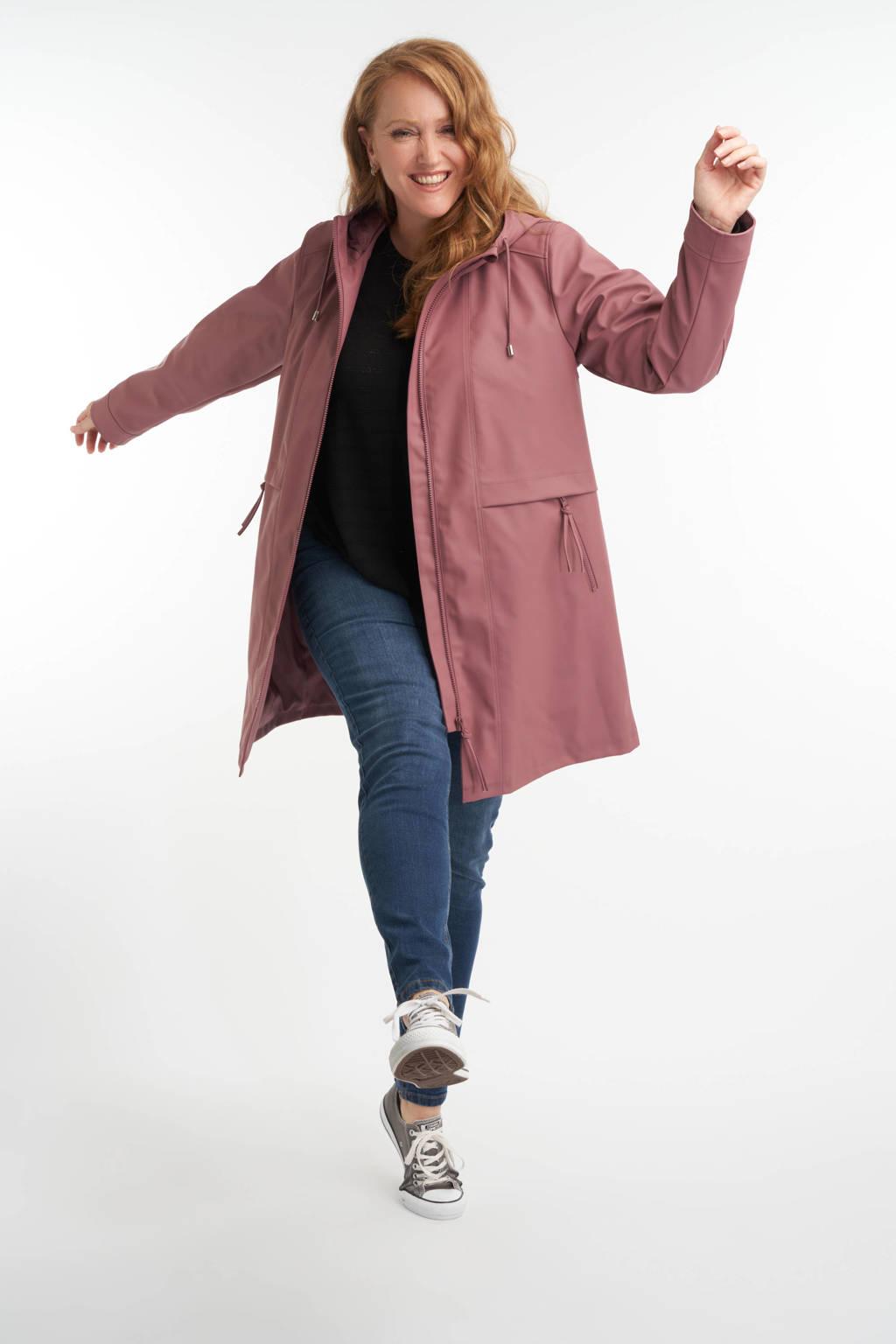 MS Mode regenjas oudroze, Oudroze
