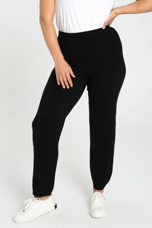 loose fit broek zwart