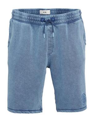 regular fit sweatshort blauw
