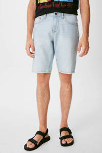 C&A Clockhouse regular fit jeans short light blue, Light Blue
