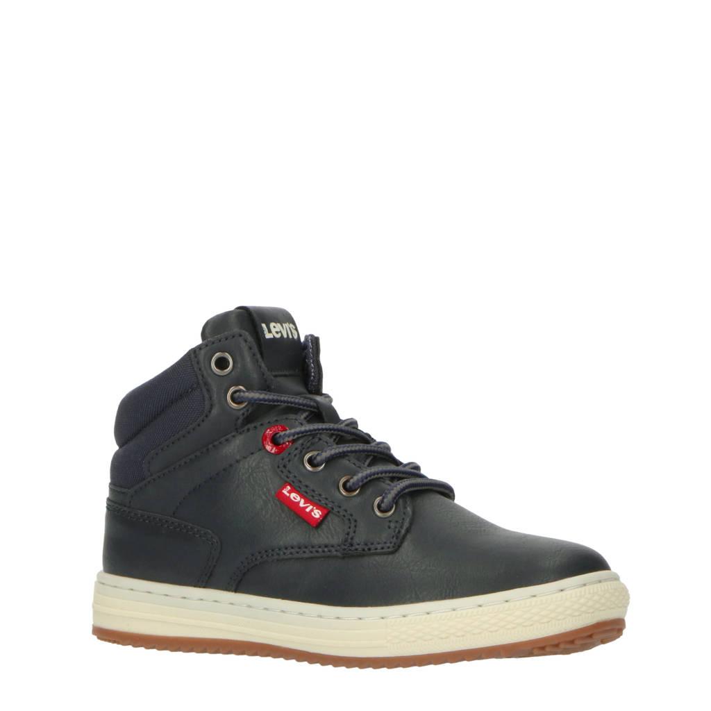 Levi's Kids New Faino K  hoge sneakers donkerblauw, Donkerblauw