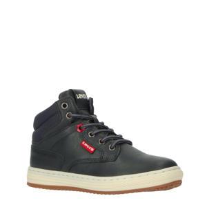 Levi's Kids New Faino K  hoge sneakers donkerblauw