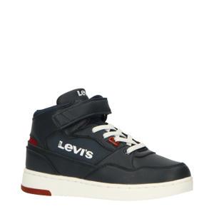 Levi's Kids Block Mid Vel K  hoge sneakers donkerblauw