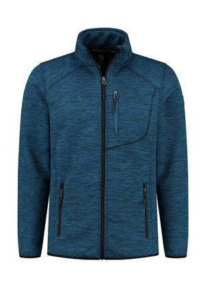 outdoor vest Erik blauw