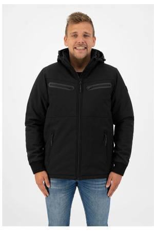 softshell outdoor jas Rens zwart