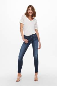 ONLY skinny jeans ONLBLUSH dark blue denim, Dark blue denim