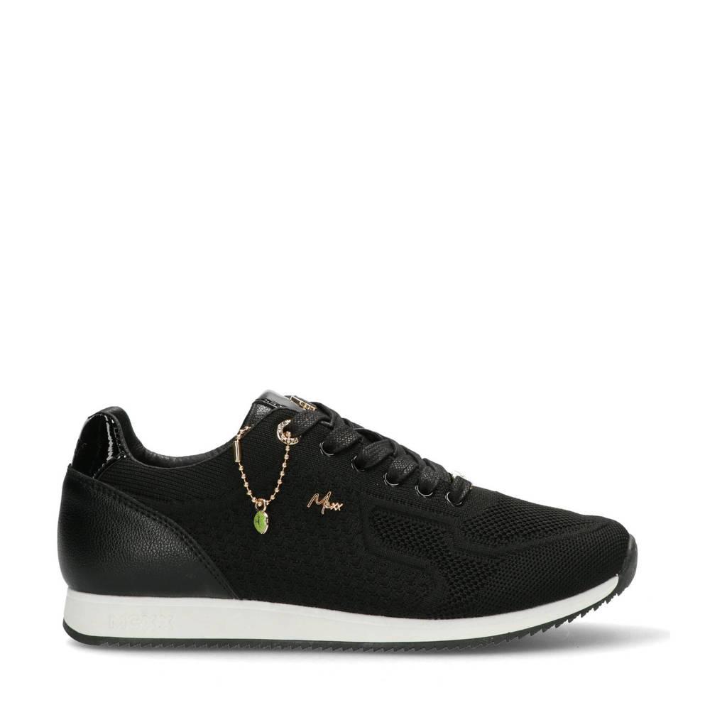 Mexx Glare  sneakers zwart, Zwart