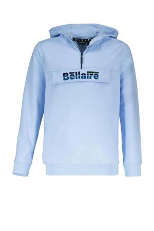 sweater met logo lichtblauw