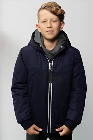 winterjas Bassy donkerblauw
