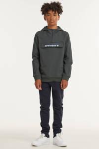 Bellaire hoodie met logo donkergroen, Donkergroen