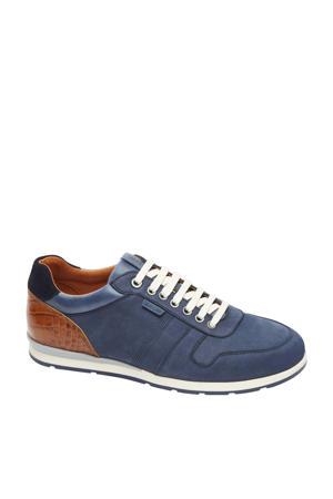 Davinci  nubuck sneakers blauw