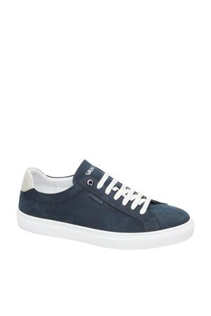 Novara  nubuck sneakers blauw
