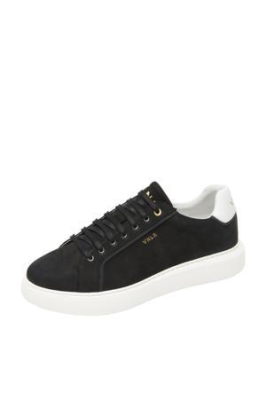 Vito  nubuck sneakers zwart