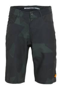 Rehall   fietsbroek Brake-R olijfgroen/donkerblauw