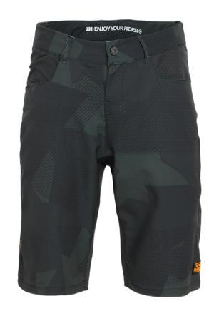 fietsbroek Brake-R olijfgroen/donkerblauw