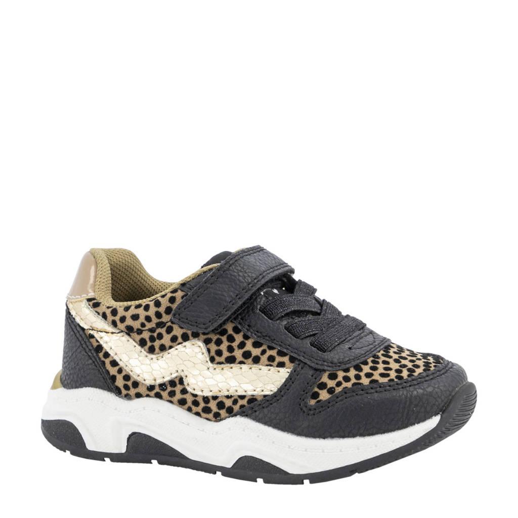 Cupcake Couture   sneakers met dierenprint zwart/beige, Zwart/beige