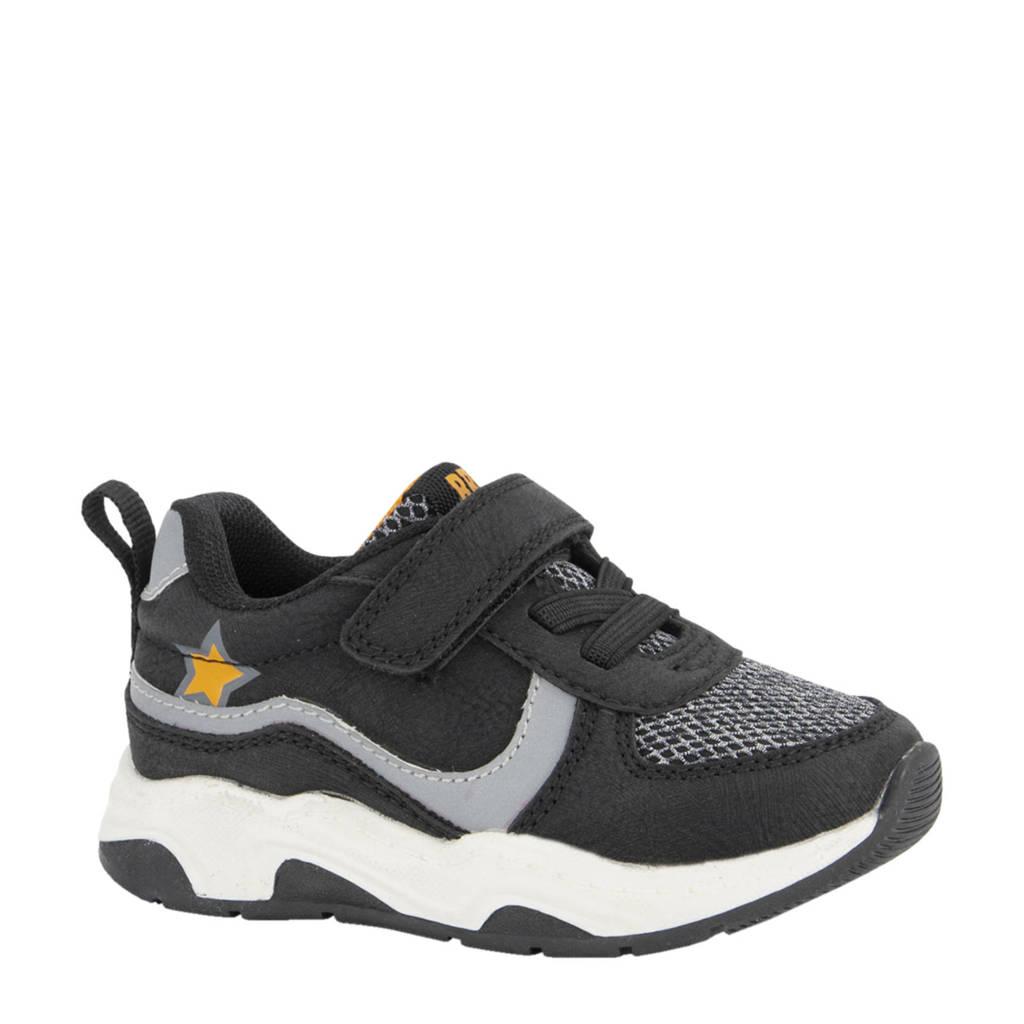 Bobbi-Shoes   sneakers zwart/grijs, Zwart/grijs