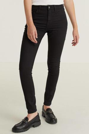 slim fit jeans met biologisch katoen zwart