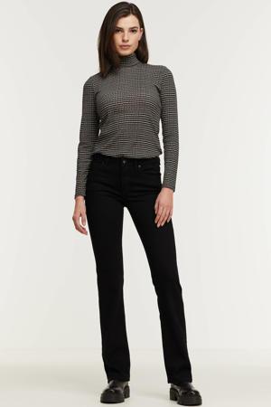 bootcut jeans met biologisch katoen zwart