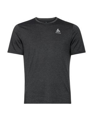 hardloopshirt zwart melange