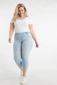 MS Mode cropped skinny jeans light denim, Light denim