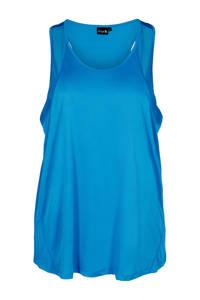 ACTIVE By Zizzi Plus Size sporttop blauw, Blauw