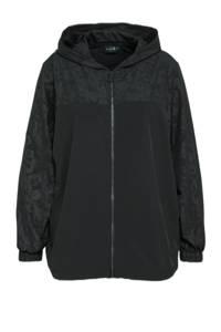 ACTIVE By Zizzi Plus Size sportvest AYUMA zwart, Zwart