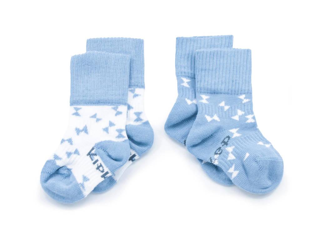 KipKep Blijf-Sokjes - set van 2 party blue, Blauw
