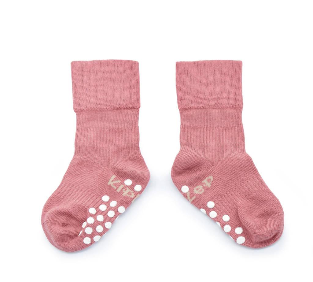 KipKep Blijf-Sokjes anti-slip roze, Roze