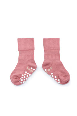 Blijf-Sokjes anti-slip roze