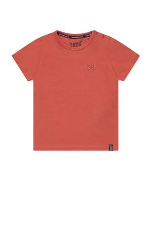 T-shirt Nigel koraalrood