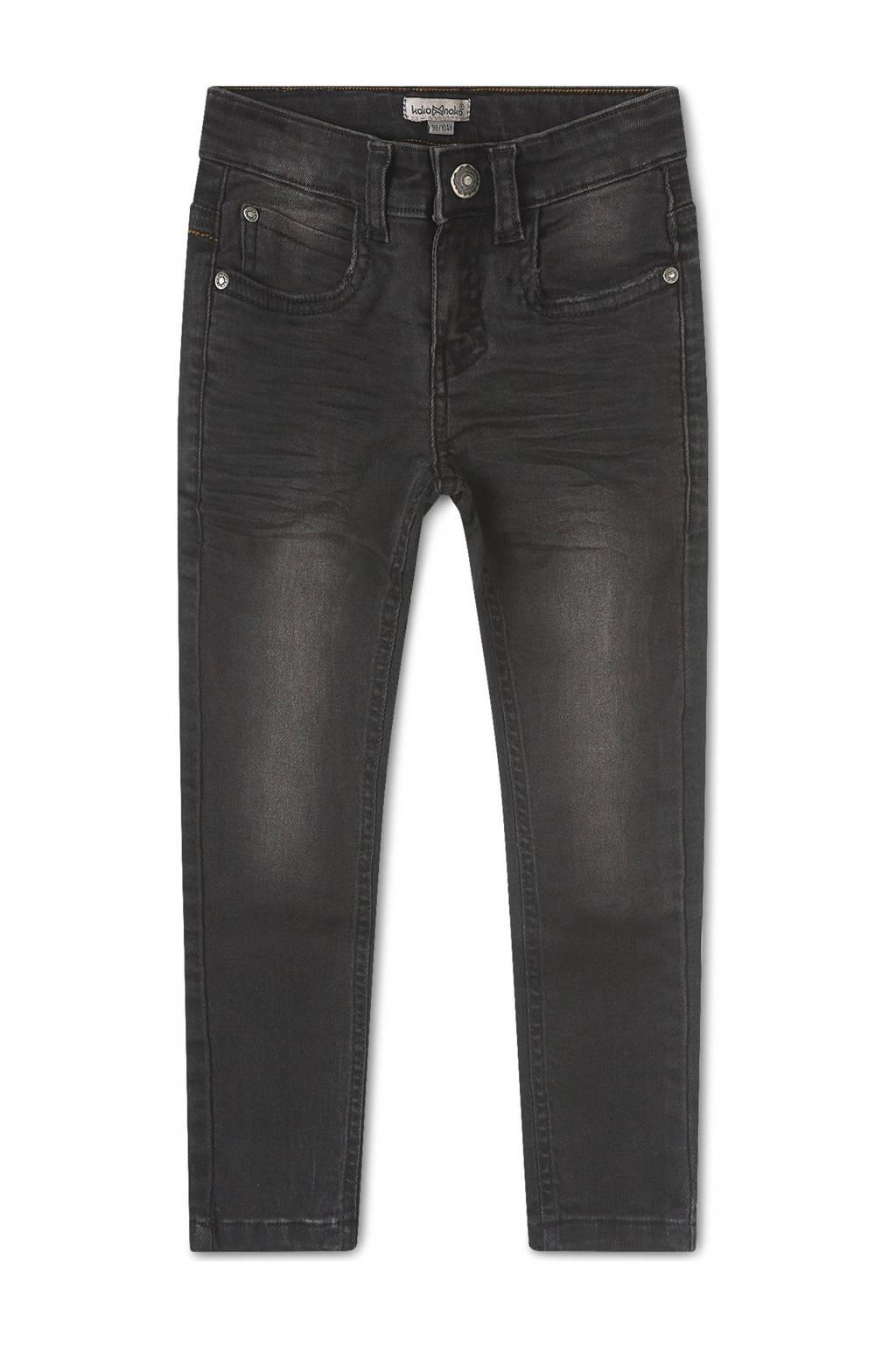 Koko Noko slim fit jeans Nox zwart, Zwart